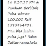 Cara Setting SMS Buyer Pulsa & PPOB Telusur Reload