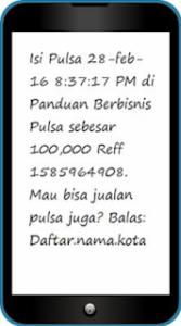 Cara Setting SMS Buyer Pulsa & PPOB Telusur Reload