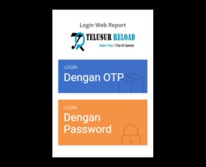 Login Web Report Telusur Reload