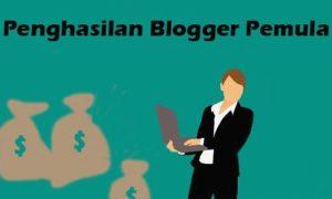 Penghasilan Blogger Pemula